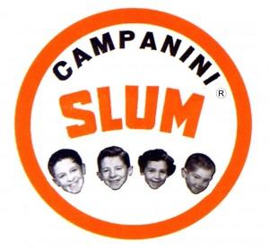Logo tondo SLUM - R no Pieve
